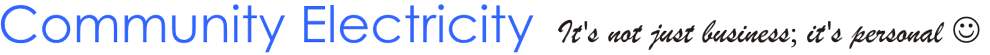 Community Electricity Logo